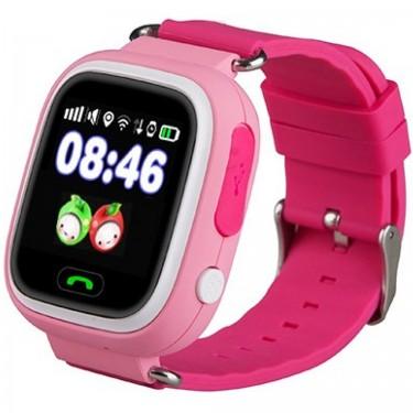 Smartwatch Star Pink cu GPS, Apel SOS si SIM pt copii