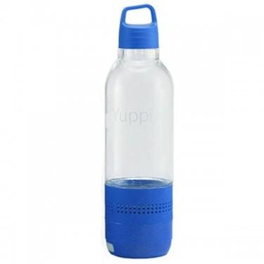 Sticla inteligenta Yuppi Love Tech Blue cu boxa Bluetooth incorporata