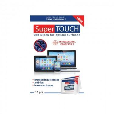 Super Touch - 10 servetele curatare ecran