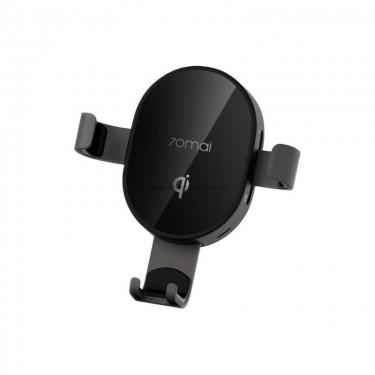 Suport auto cu incarcare wireless Fast Charging Pad Qi Xiaomi Mi 70Mai Midrive PB01 10W, black