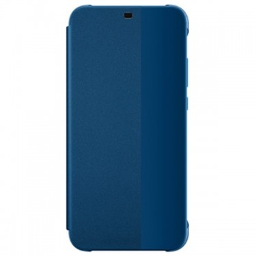 Husa Huawei book smart view cover blue pt Huawei P20 Lite