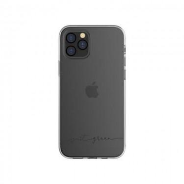 Husa protectie spate BigBen Just Green pt Apple iPhone 12 Pro Max, black