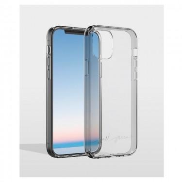 Husa protectie spate BigBen Case Just Green pt iPhone 12 Pro Max, transparent