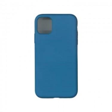 Husa protectie spate Silicon Liquid pt iPhone 12 Pro Max, blue