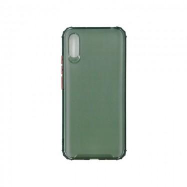 Husa protectie spate Millo Matte Crack pt Xiaomi Redmi 9A, green