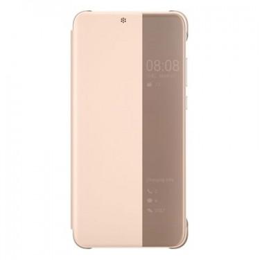 Husa Huawei view cover pink pt Huawei P20