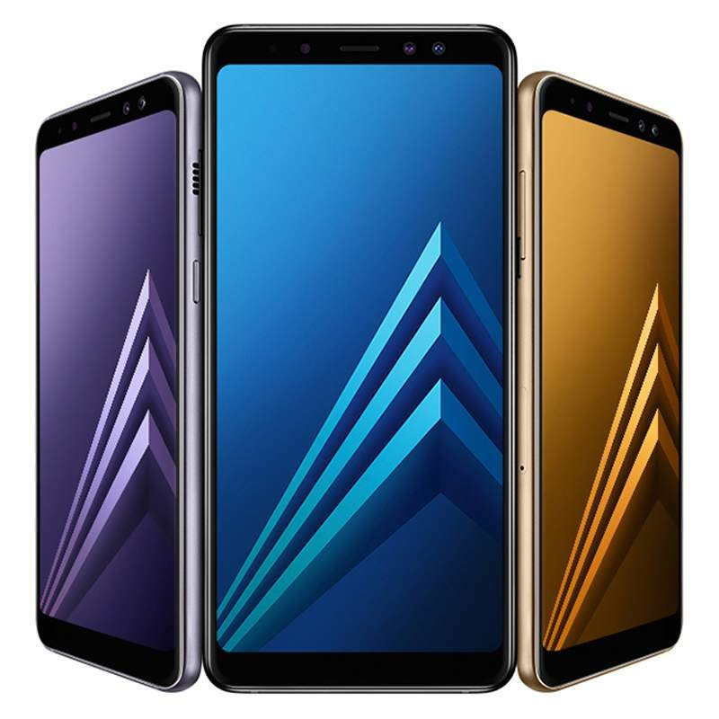 "Samsung Galaxy A8 (2018) 4G 5.6"" Octa-Core 4GB RAM Tri-Camera"