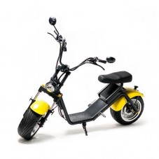 Moped Electric FreeWheel MotoRo S1 yellow - 1200W Autonomie 40 Km