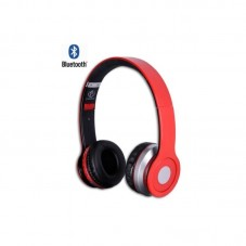 Casti Bluetooth Rebeltec Crystal, red