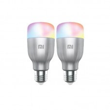 Set 2 becuri Xiaomi Yeelight LED Smart Light Bulb (white + color)