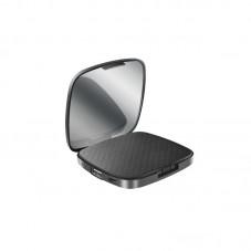 Baterie Externa SBS TESLBB3000MIRK 3000 mAh cu oglinda, black
