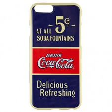 Husa protectie spate Coca-Cola Old 5 Cents pt iPhone 6