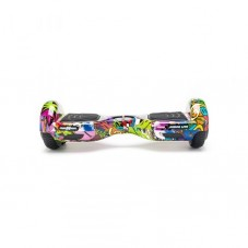 Scooter Electric (Hoverboard) Freewheel Junior Lite - Graffiti, purple