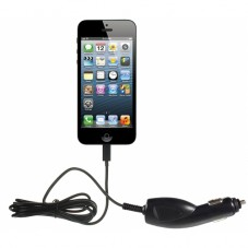 Incarcator auto Kit 1000mAh black Lightning pt Apple iPhone 5
