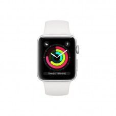 Apple Watch Series 3 38mm, MTEY2MPA, White Sport Band, space grey