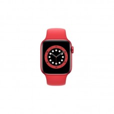 Apple Watch Series 6 44mm, GPS, Sport Band, M00M3WB, red