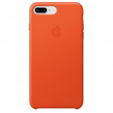 Husa Apple piele bright orange pt Iphone7+/8+ MRGD2ZM-A