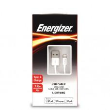 Cablu de date Energizer C11UBLIGWH4 USB to Lightning White