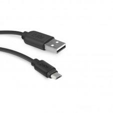 Cablu de date SBS microUSB 1m, black