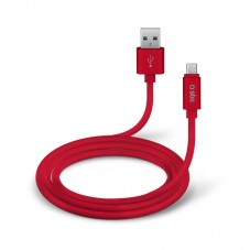 Cablu de date SBS microUSB 1m, red