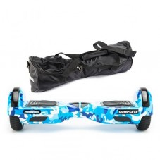 Scooter Electric (Hoverboard) Freewheel Complete Camuflaj blue + Geanta 6.5 inch Cadou