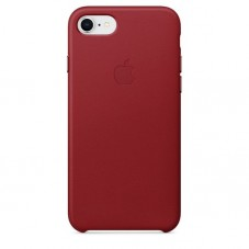 Capac protector Apple piele red pt iPhone 8/7