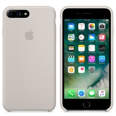 Capac protector Apple silicon MMQW2 beige pt iPhone 7 plus