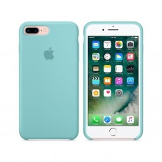 Capac protector Apple silicon MMQY2 sea blue pt iPhone 7 plus
