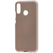 Capac protector Goosperry silicon jelly gold pt Huawei P20 Lite