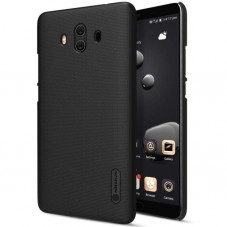Husa protectie spate Nillkin Frosted Black si folie pt Huawei Mate 10