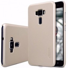 Capac protector Nillkin frosted gold si Folie pt Asus Zenfone 3