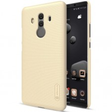 Husa protectie spate Nillkin Frosted Gold si folie pt Huawei Mate 10 Pro