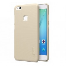 Capac protector Nillkin frosted gold si Folie pt Huawei P10 Lite