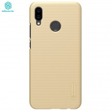 Capac protector Nillkin Frosted Gold si folie pt Huawei P20