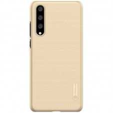 Capac protector Nillkin Frosted gold si folie pt Huawei P20 Pro