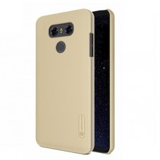 Capac protector Nillkin frosted gold si Folie pt LG G6