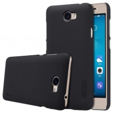 Husa protectie spate Nillkin frosted black si folie pt Huawei Y5 ll