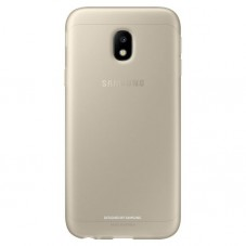 Husa protectie spate Samsung Jelly cover gold pt Galaxy J3(2017)