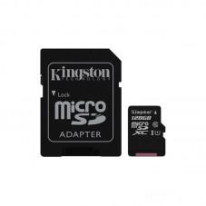 Card de memorie Kingston MicroSDXC Canvas Select, 128GB, 80R, Class 10, UHS-I + adaptor