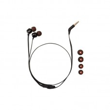 Casti audio in-ear cu microfon JBL T110, black
