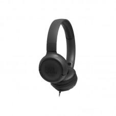 Casti cu fir JBL Tune 500, Pure Bass Sound, Hands-free Call, black