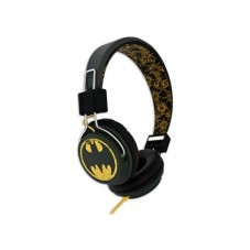 Casti cu fir Licensed DC, Batman Vintage Teen, black