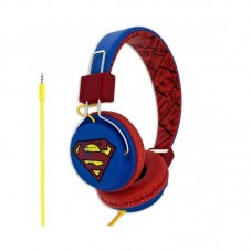 Casti cu fir Licensed DC, tip On-Ear, Superman Vintage Teen,Blue