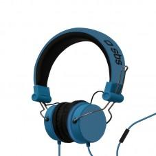 Casti stereo Sbs Dj Blue studio mix cu fir si microfon