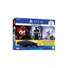 Consola PlayStation 4 Slim 500GB GTS-HZD-UC4 + 3 jocuri + abonament 90 zile
