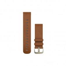 Curea piele smartwatch Garmin QuickFit 22mm, beige