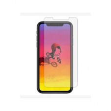 Folie protectie ecran MyScreen Full Cover Glass pt iPhone XR, black