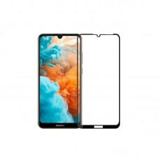 Folie protectie ecran OkMore Tempered Glass Full Size Full Glue black pt Huawei Y6 (2019)