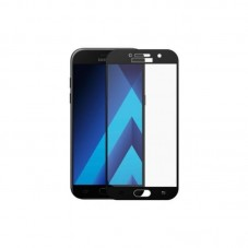 Folie protectie ecran OkMore Tempered Glass Full Size Full Glue black pt Samsung Galaxy A3 (2017)