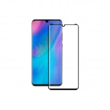 Folie protectie ecran Premium Tempered Glass Full Size Full Glue black pt Huawei P30 Pro